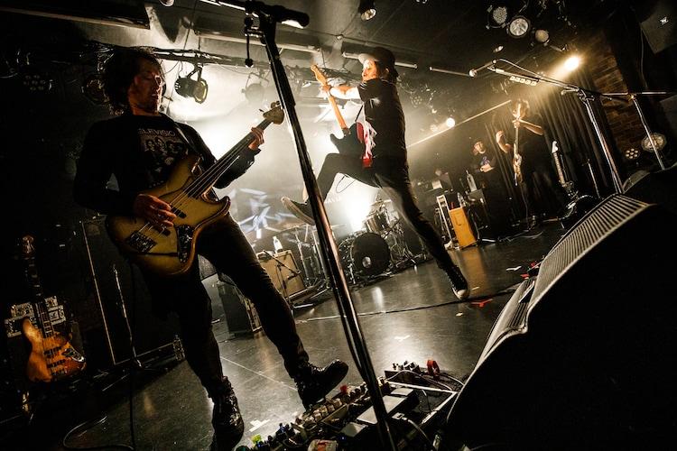 杉本恭一&three days ago(Photo by Chiyori)