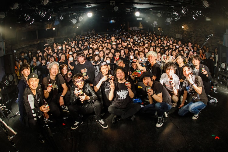 終演後に撮影した出演者たちによる記念写真。(Photo by Chiyori)