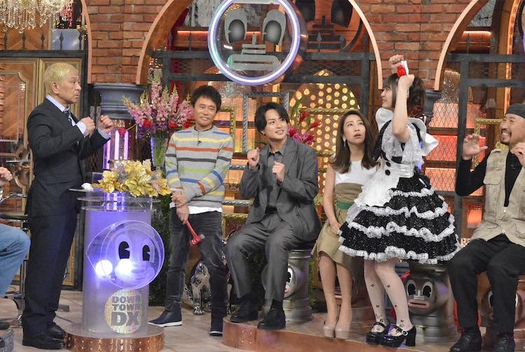 読売テレビ・日本テレビ系「ダウンタウンDX」2020年3月5日放送回より。(c)NTV