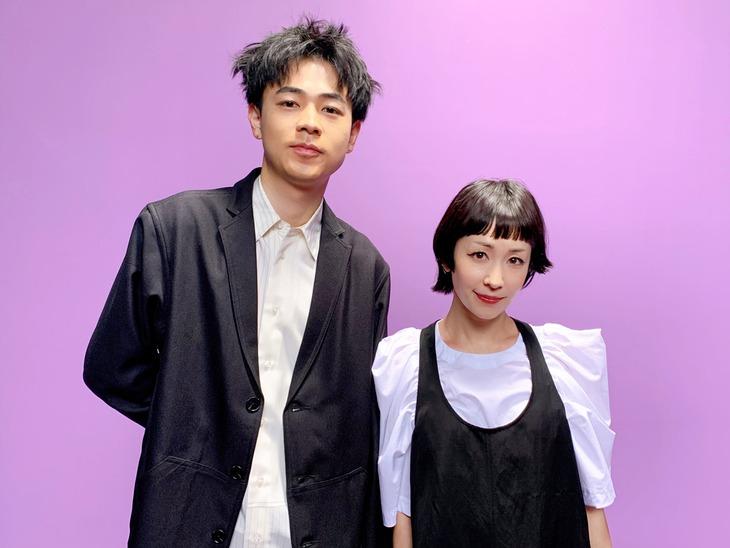 木村カエラと成田凌。
