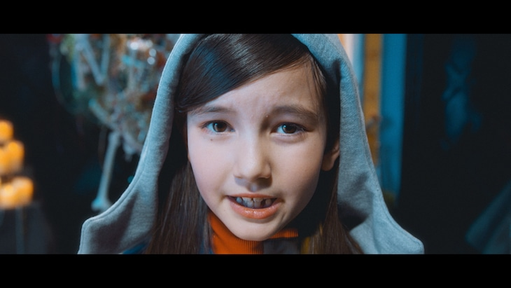 プー・ルイ「I'm in love」ミュージックビデオのワンシーン。