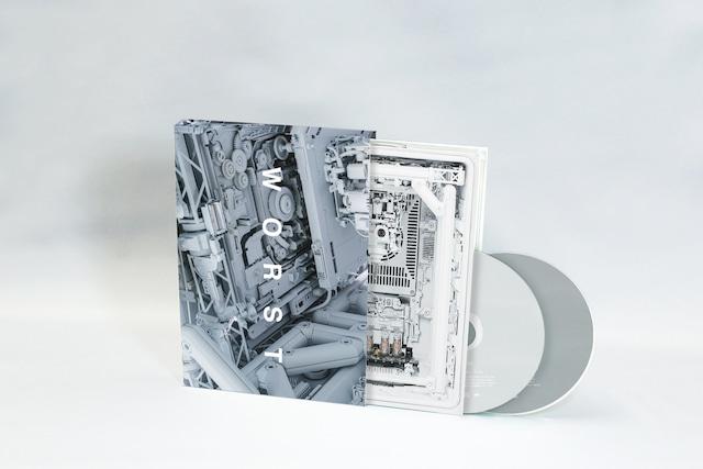 KOHH「worst -Complete Box-」展開図