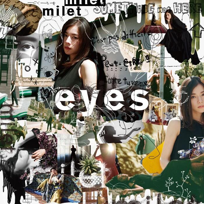 milet「eyes」通常盤ジャケット