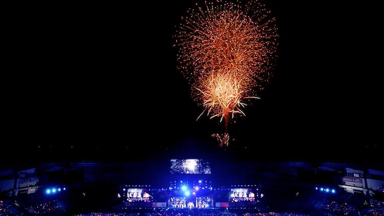水樹奈々「NANA MIZUKI LIVE EXPRESS 2019」千葉・ZOZOマリンスタジアム公演の様子。