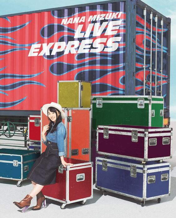 水樹奈々「NANA MIZUKI LIVE EXPRESS」Blu-ray盤ジャケット