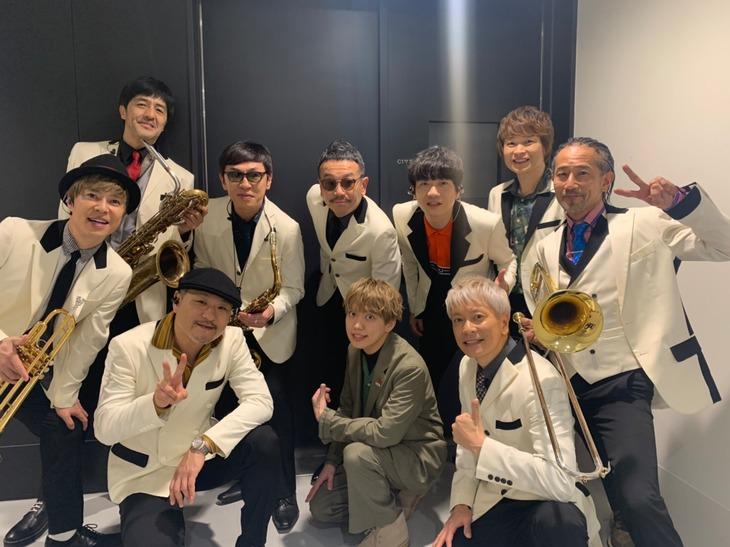 東京スカパラダイスオーケストラと04 Limited SazabysのGEN。