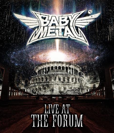BABYMETAL「LIVE AT THE FORUM」Blu-rayジャケット