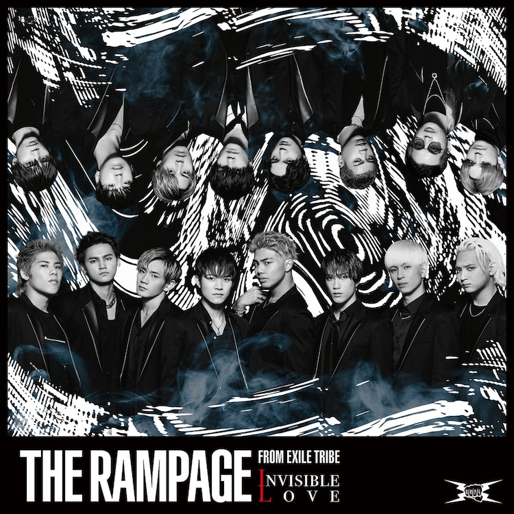 THE RAMPAGE from EXILE TRIBE「INVISIBLE LOVE」CDジャケット