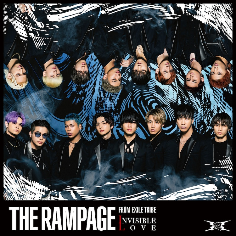 THE RAMPAGE from EXILE TRIBE「INVISIBLE LOVE」CD+DVDジャケット