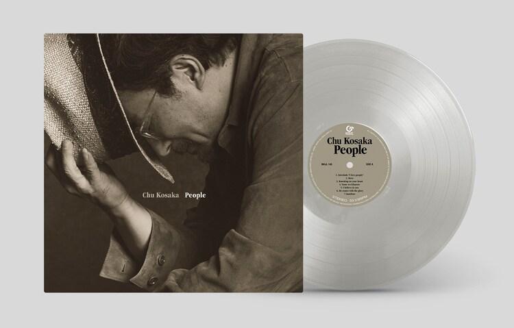 小坂忠「People」アナログ盤のパッケージ。