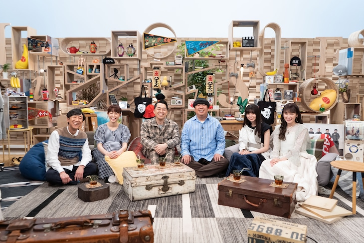 NHK総合「ジンセイQUEST~日村の大冒険~」出演者。(写真提供:NHK)