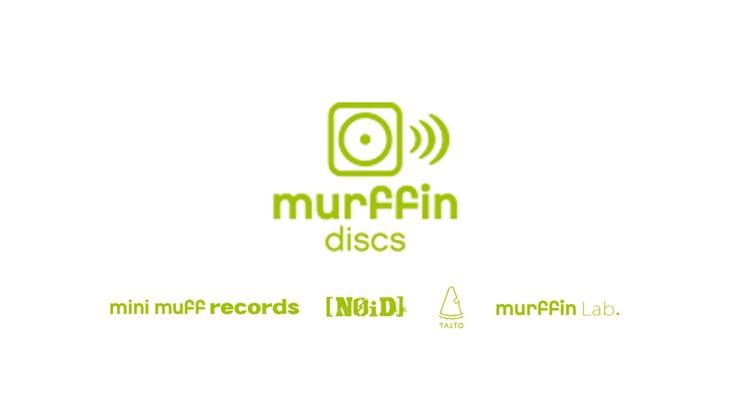 「murffin discs」ロゴ