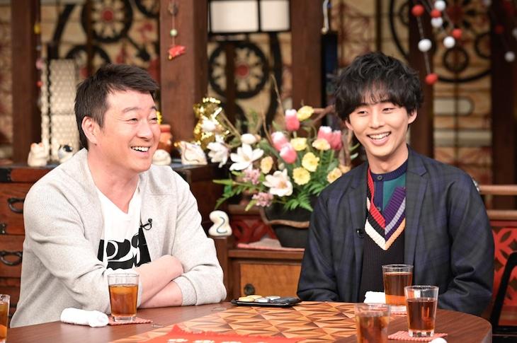 左から加藤浩次(極楽とんぼ)、藤ヶ谷太輔(Kis-My-Ft2)。(c)TBS