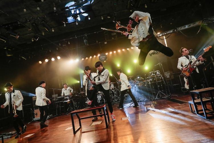 """東京スカパラダイスオーケストラ「TOKYO SKA JAM """"8""""」より。"""