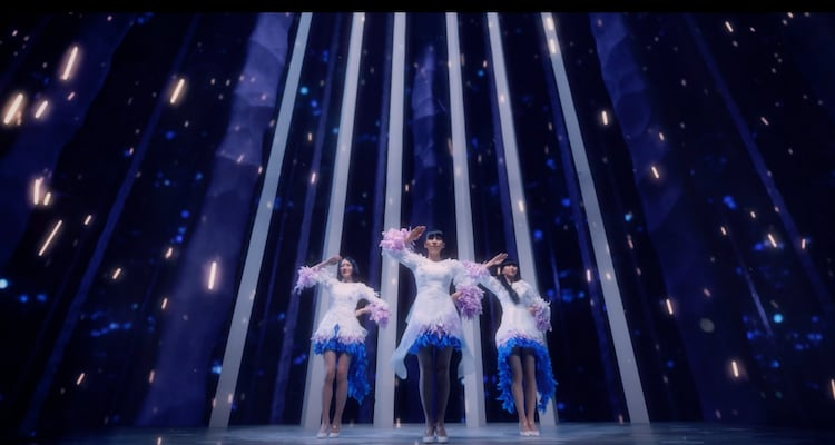 Perfume「Challenger」ミュージックビデオより。