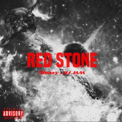Showy × DJ JAM「RED STONE」配信ジャケット