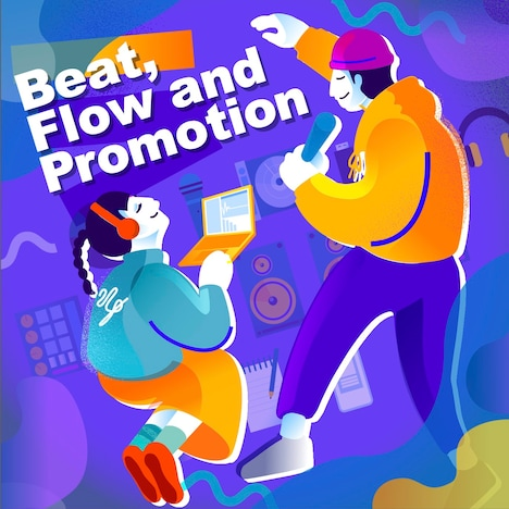 「Beat, Flow and Promotion」ビジュアル