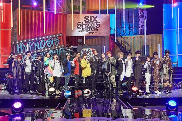 「ヒプノシスマイク -Division Rap Battle- 5th LIVE@AbemaTV《SIX SHOTS UNTIL THE DOME》」の様子。(撮影:粂井健太)