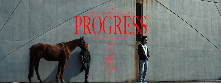 KANDYTOWN「PROGRESS」ミュージックビデオより。