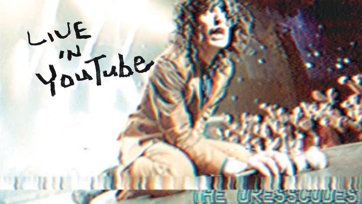 ドレスコーズ「LIVE IN YouTube」告知ビジュアル