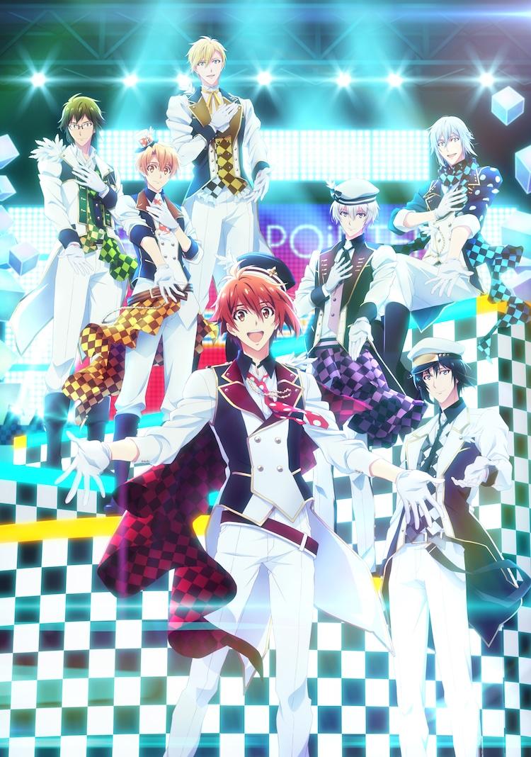 テレビアニメ「アイドリッシュセブン Second BEAT!」キービジュアル (c)BNOI / アイナナ製作委員会