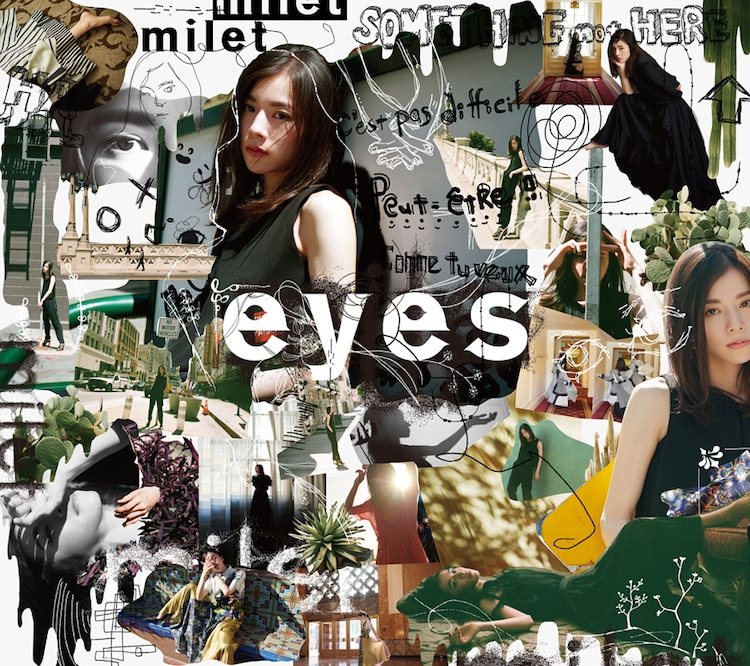 milet「eyes」初回限定盤Aジャケット
