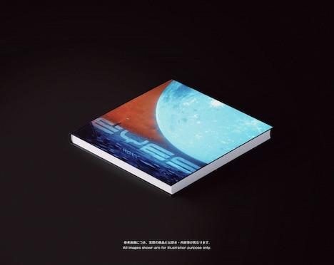WONK「EYES」アートブックデザイン