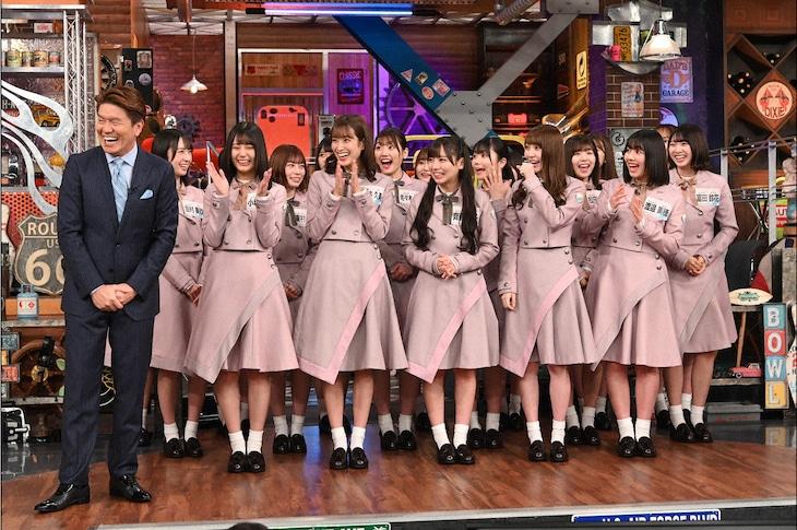 日向坂46が出演する日本テレビ系「ウチのガヤがすみません!」より。(c)日本テレビ