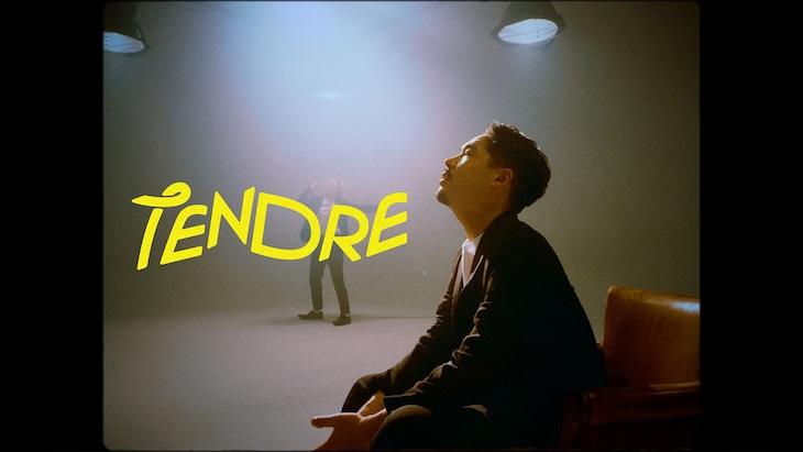 TENDRE「LIFE」ミュージックビデオのワンシーン。