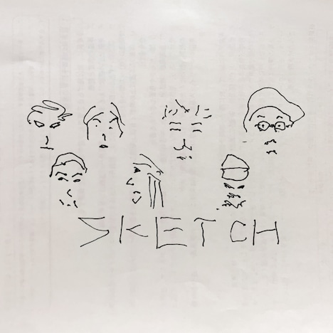 NABOWA & jizue「Sketch」ジャケット