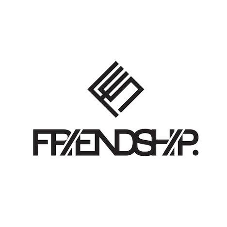 「FRIENDSHIP.」ロゴ