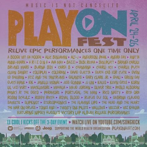 「PlayOn Fest」ポスター