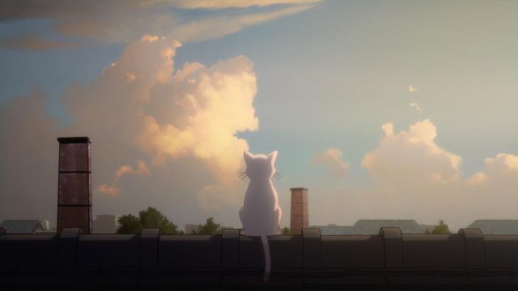 ヨルシカ「花に亡霊」MVのワンシーン。(c) 2020 「泣きたい私は猫をかぶる」製作委員会