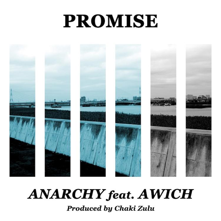ANARCHY「Promise feat. Awich(Prod. Chaki Zulu)」配信ジャケット