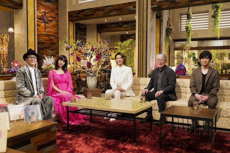 「The Covers 松本隆スペシャル 第2夜『80年代男性スター名曲特集』」の出演者。