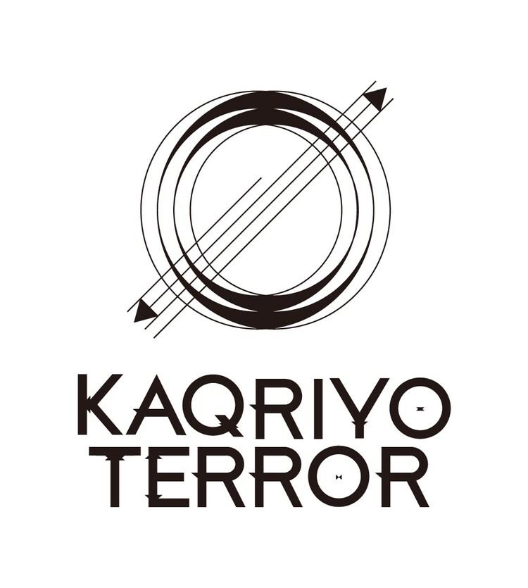 KAQRIYOTERRORのロゴ。
