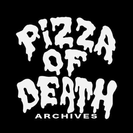 「PIZZA OF DEATH ARCHIVES」ロゴ