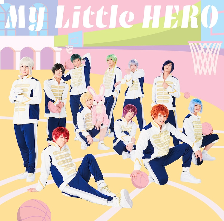 アルスマグナ「My Little HERO」初回限定盤Bジャケット