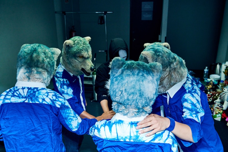 """MAN WITH A MISSION「MAN WITH A MISSION THE MOVIE -TRACE the HISTORY-」場面写真(c)2020 """"TRACE the HISTORY"""" FILM PARTNERS"""