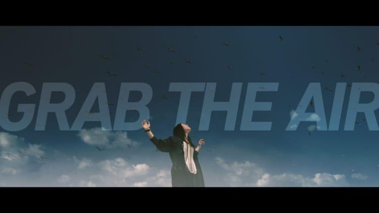 milet「Grab the air」ミュージックビデオティザー映像より。