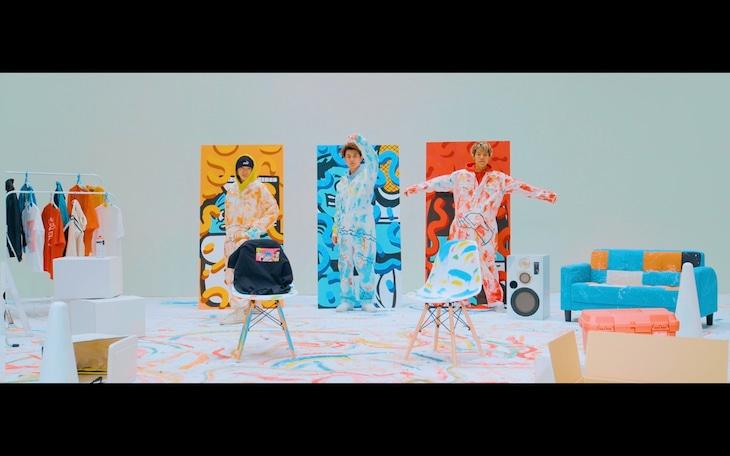 空音「You GARI feat. SUSHIBOYS」ミュージックビデオより。