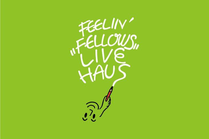 「FEELIN'FELLOWS LIVE HAUS」ロゴ