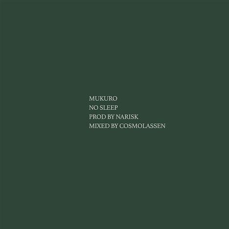 MuKuRo「No Sleep」配信ジャケット
