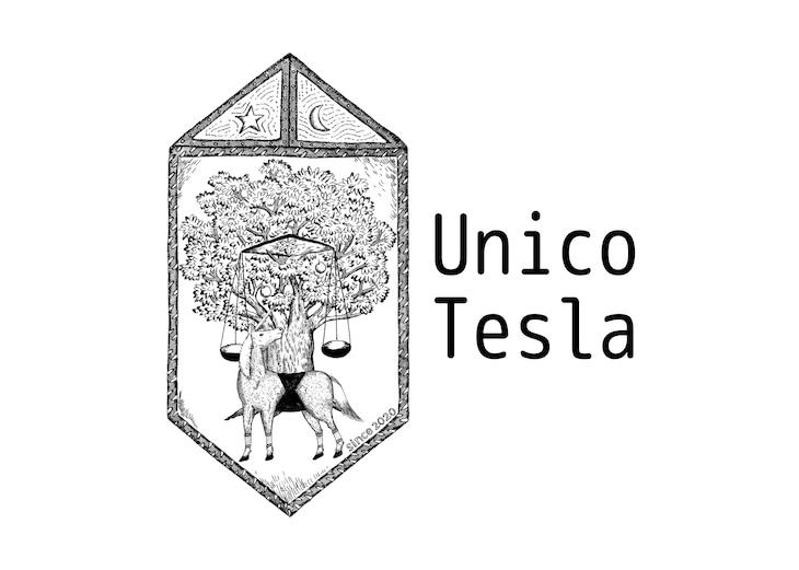 「Unico Tesla」ロゴ