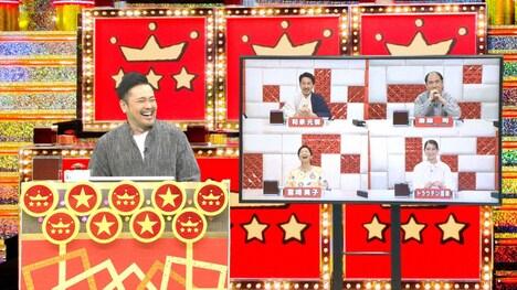 テレビ朝日系「くりぃむクイズ ミラクル9」より有田哲平(くりぃむしちゅー)率いる有田ナイン。(画像提供:テレビ朝日)