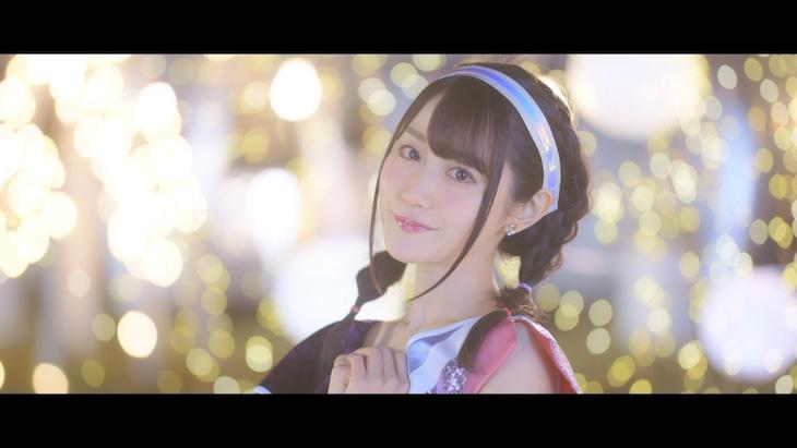 小倉唯「瞳の国のアリス -Dance Music Edition-」ミュージックビデオより。