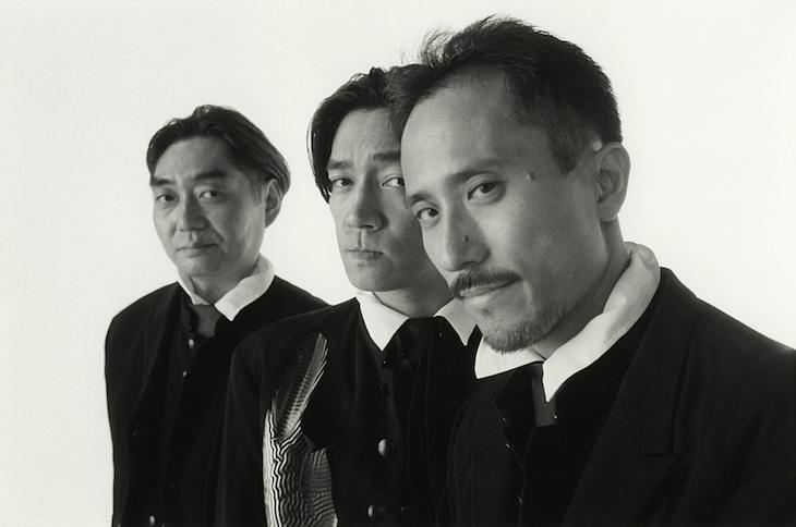アルバム「TECHNODON」リリース時のYMO。