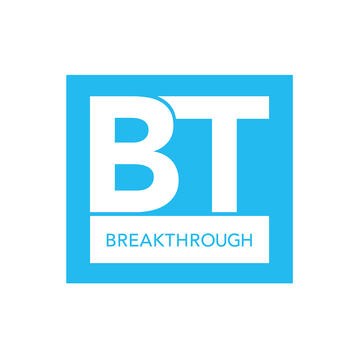 「#BREAKTHROUGH」ロゴ