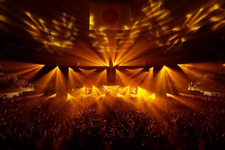ORANGE RANGE「ORANGE RANGE LIVE TOUR 016-017 ~おかげさまで15周年! 47都道府県 DE カーニバル~」の様子。