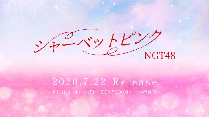NGT48「シャーベットピンク」イメージ画像